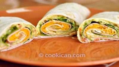 Turkey and Healthy Avocado Wrap