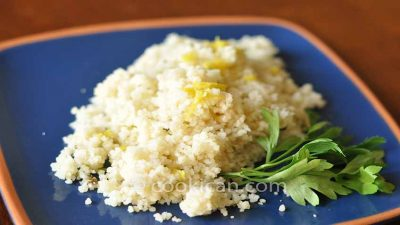 Couscous with Lemon Herbs