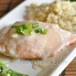 Salmon with Coconut Oil