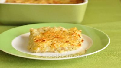 Shredded Potato Au Gratin